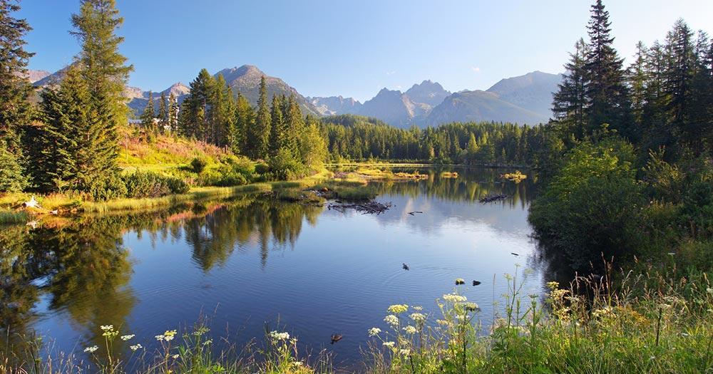 Nationalpark Hohe Tatra / der Nationalpark in der Slowakei