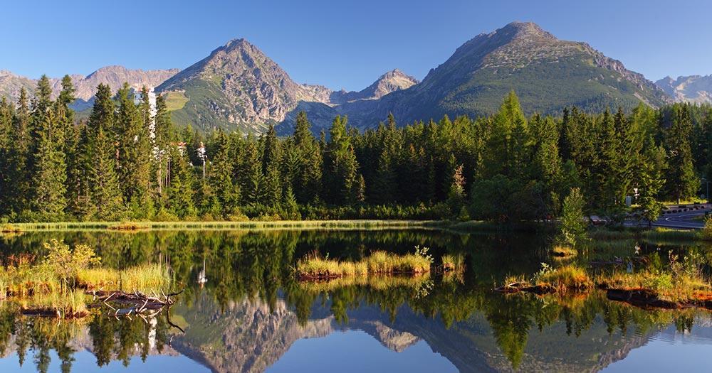 Nationalpark Hohe Tatra / der Nationalpark Hohe Tatra