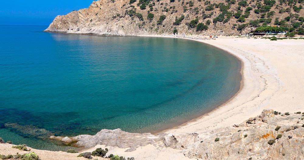 Samothraki - Strand von Samothraki