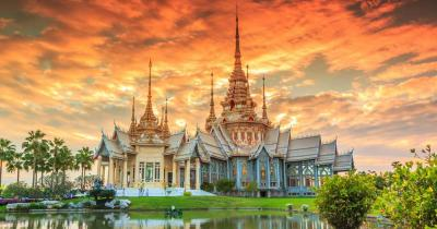 Thailand - Wat thai in Tempel