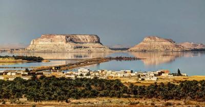 Die Oase Siwa - Siwa See und Oase in Ägypten