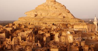 Die Oase Siwa - Festung von Shali