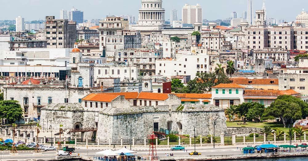 Havanna  - die Stadt Havanna mit berühmten Gebäuden