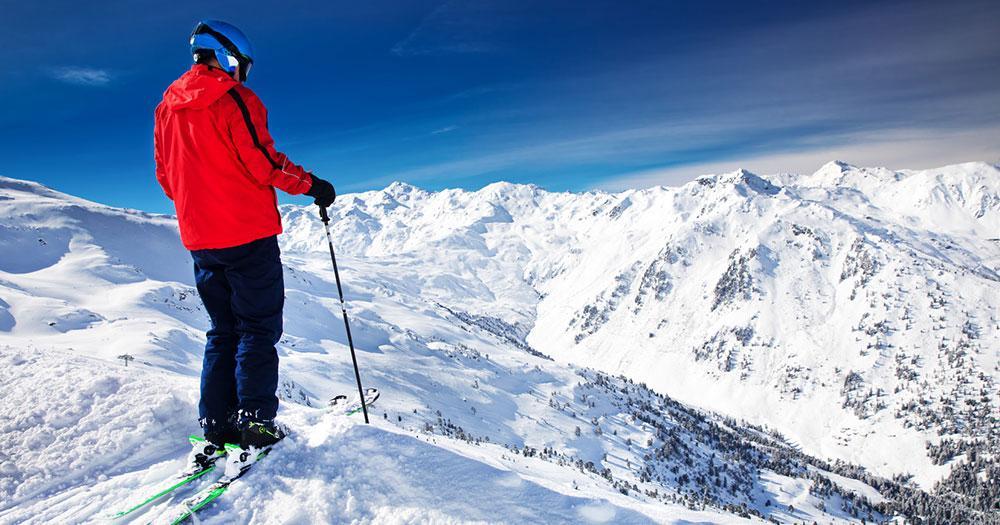 Hintertuxer Gletscher - Herrliches Winterpanorama