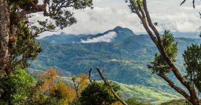 Altos de Campana Nationalpark - Panoramablick über den Nationalpark Altos de Campana