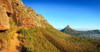 Tafelberg Nationalpark - wunderschöner Ausblick auf den Tafelberg Nationalpark