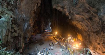 Batu-Höhlen - die Batu-Höhlen in Malaysia