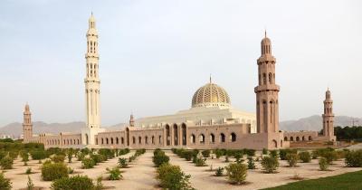 Große Sultan-Qabus-Moschee - die große Sultan-Qabus-Moschee