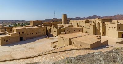 Festung von Bahla - Nahaufnahme von der Festung von Bahla