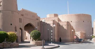 Festung von Nizwa - Festung von Nizwa in Oman