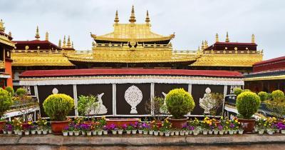 Jokhang Tempel - der Jokhang Tempel in Tibet