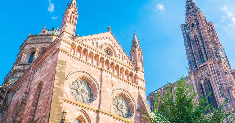 Straßburg - die Kathedrale von Straßburg