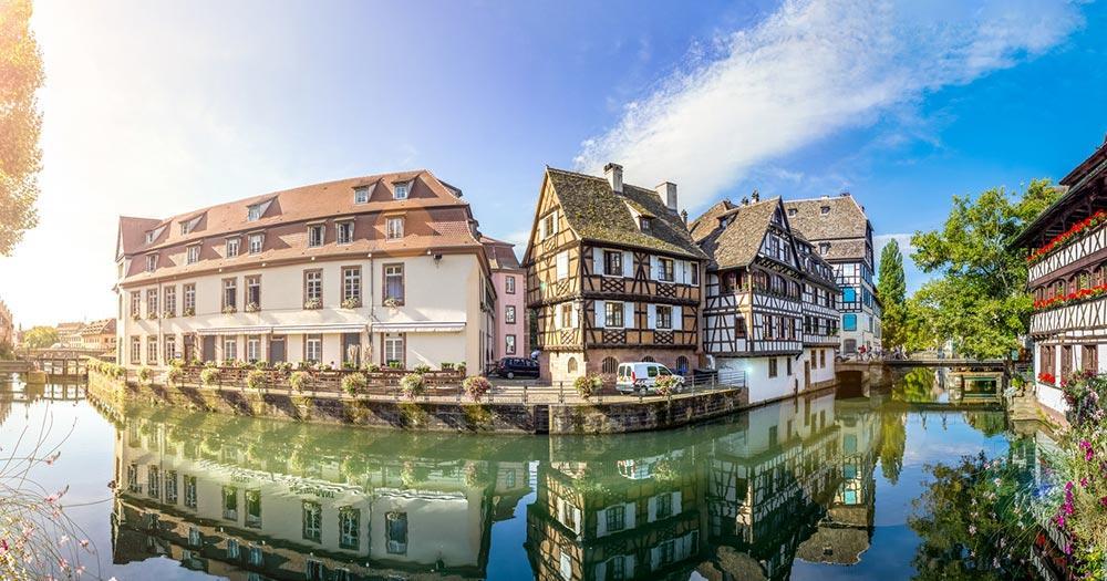 Straßburg - die Wasserkanäle von Straßburg