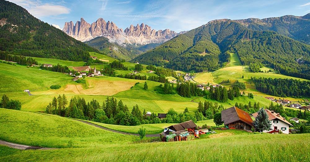 Mit dem Auto durch Italien - Dolomiten