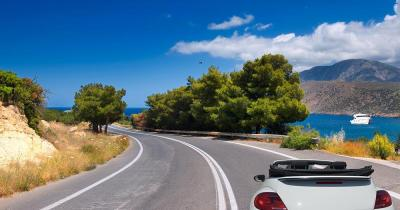 Mit dem Auto durch Spanien - über die Bergstraßen