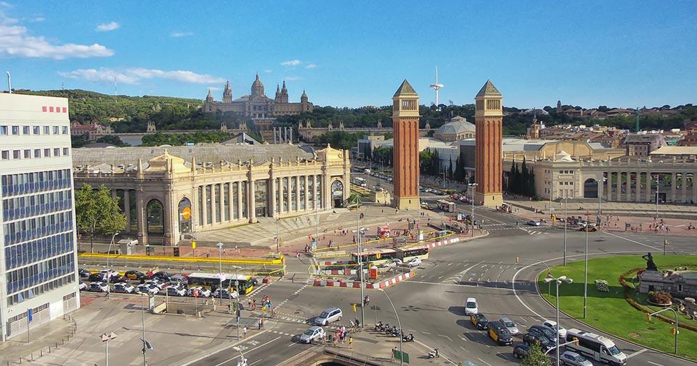 Mit dem Auto durch Spanien - Barcelona