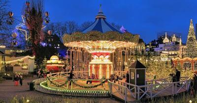 Weihnachtsmarkt Tivoli - Weihnachts Karussell