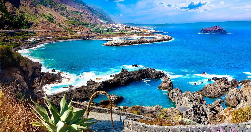 Teneriffa - Blick auf eine Bucht
