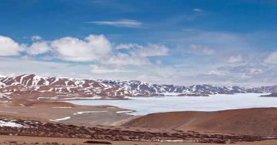 Yamzhog Yumco - der heilige See in Tibet