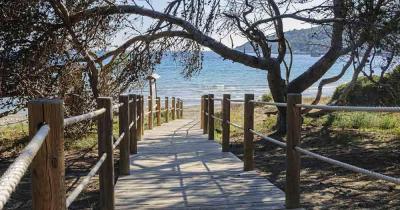 Ibiza - Weg zum Strand von Ses Salines