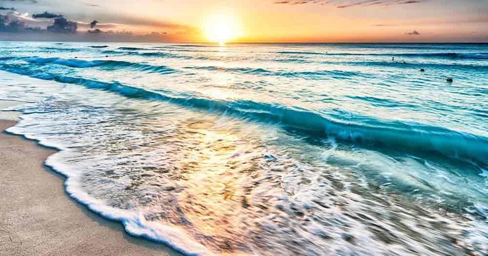 Cancun - Bild vom Strand an der Riviera Maya