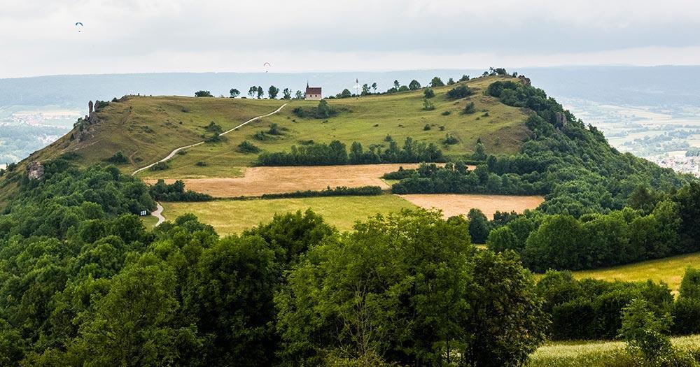 Walberla - Der Berg der Franken  - Blick aus der Ferne