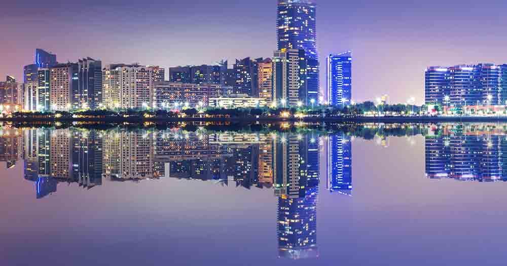 Abu Dhabi - Blick auf die Skyline
