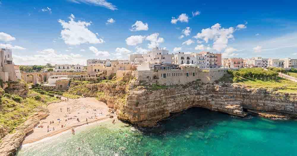 Apulien - Ausblick auf die Landschaft