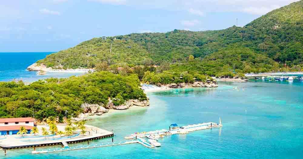 Haiti - Blick auf die traumhafte Insel