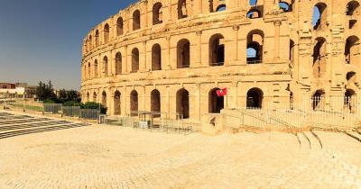 Tunesien - El Jem Amphitheater