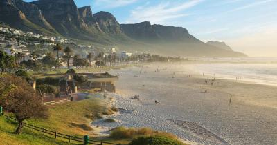 Kapstadt - Camps Bay Beach in Cape Town