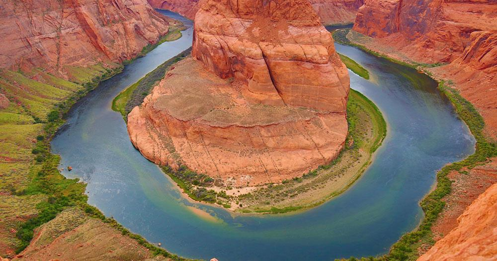 Arizona - Der Colorado River formte den Grand Canyon