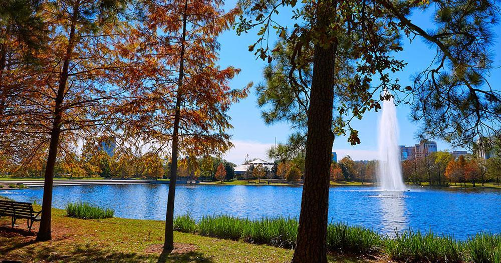 Houston - Hermann park Mcgovern lake