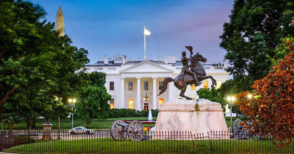 Washington D.C. - Das Weiße Haus