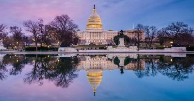 Washington D.C - Das Capitol in der Abensonne