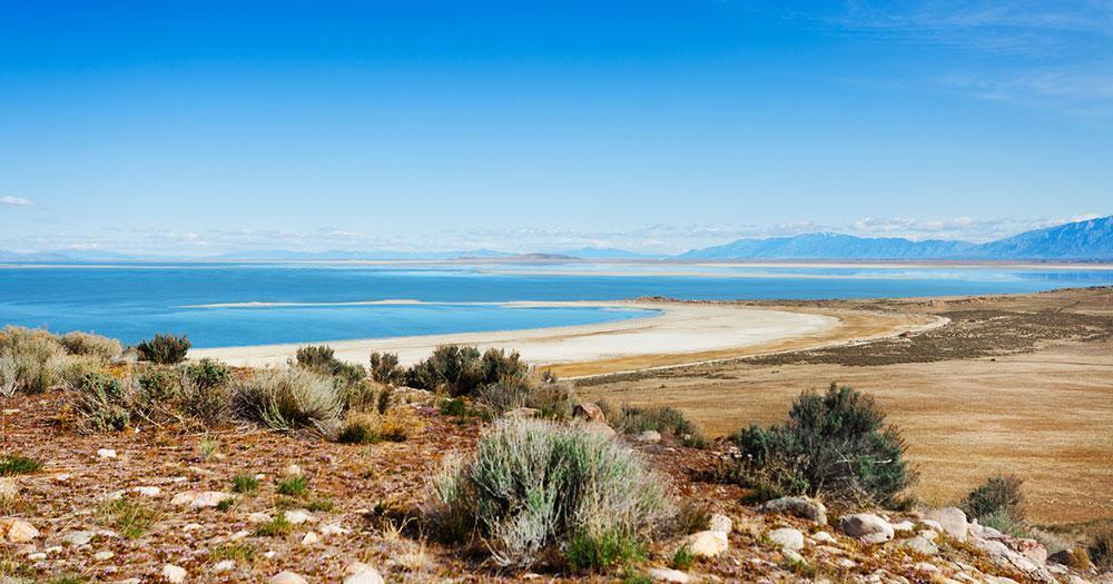 Salt Lake City - Die Salzseen geben der Stadt den Namen