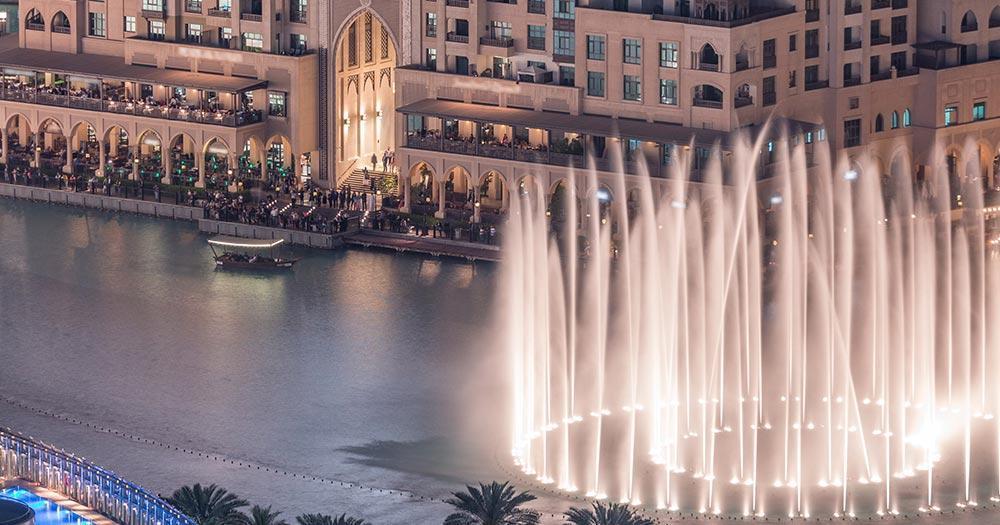 Wasserspiele von Dubai - Dubai Fontains