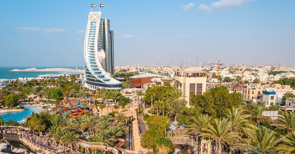 Wild Wadi Wasserpark - Jumeirah Beach Hotel