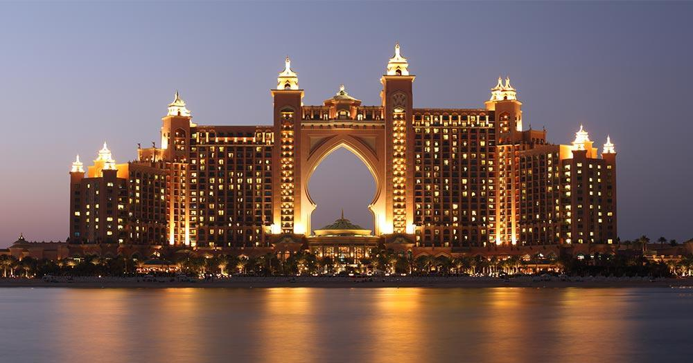 The Palm Jumeirah - Atlantis Hotel