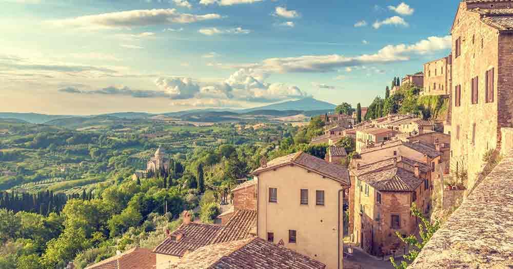 Toskana - Malerische Aussichten