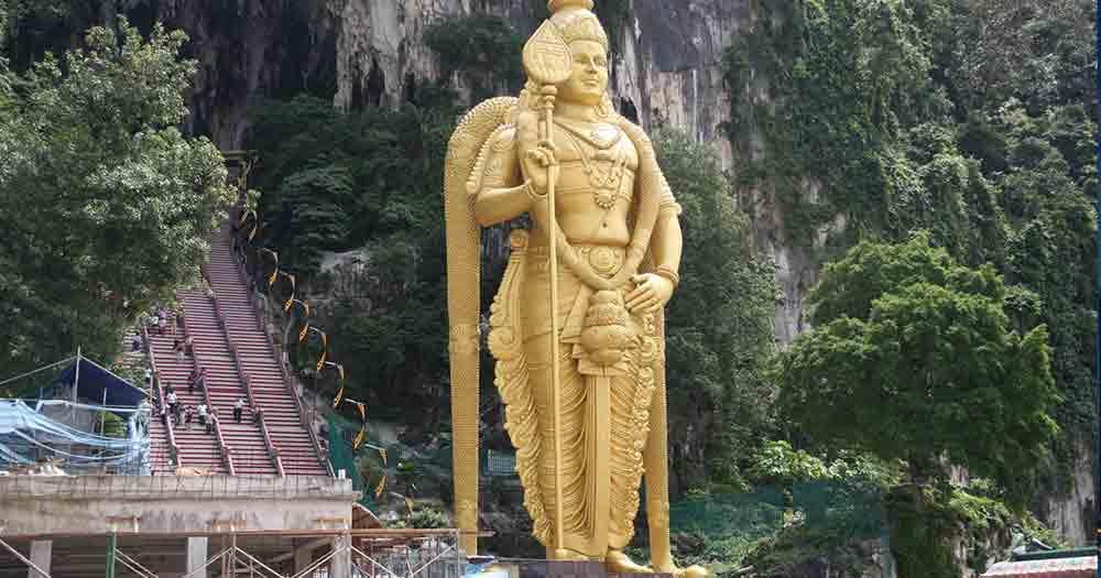 Kuala Lumpur - Batu Höhlen Statue