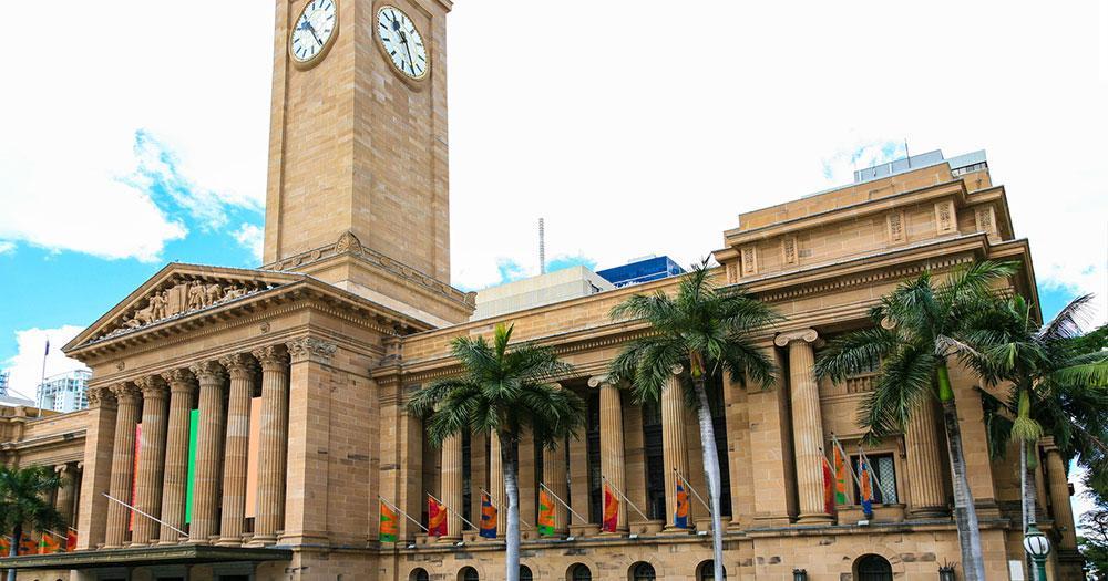 Brisbane - Brisbane Rathaus