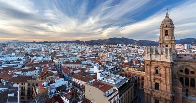 Malaga - Skyline von Malaga