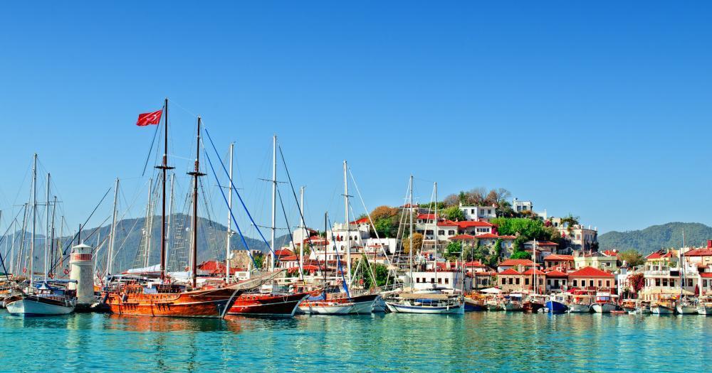 Marmaris - Blick auf den Hafen