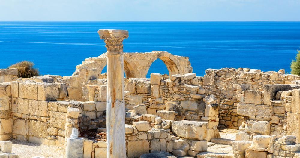 Zypern - Blick auf die Ruinen