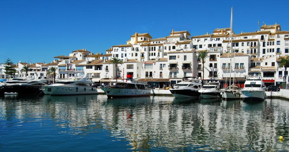 Marbella - Blick auf den Hafen