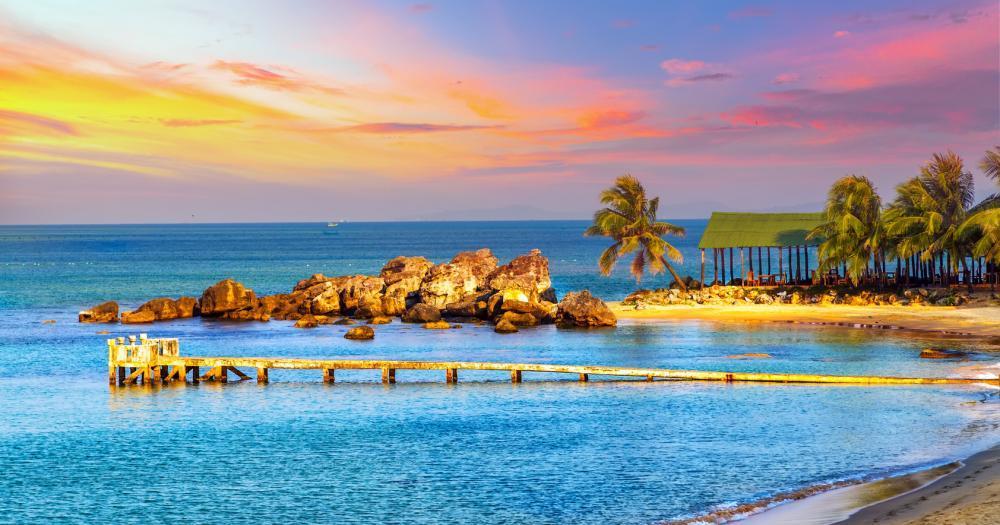 Kuba - Blick auf das Meer