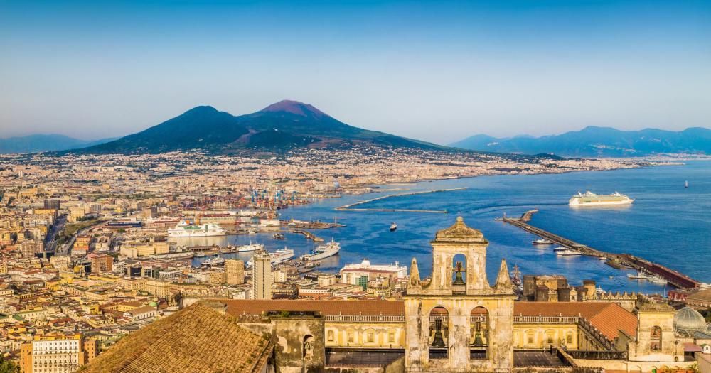 Neapel - Blick auf die Stadt