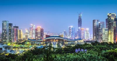 Shenzhen - Das China Civic Center von Shenzhen