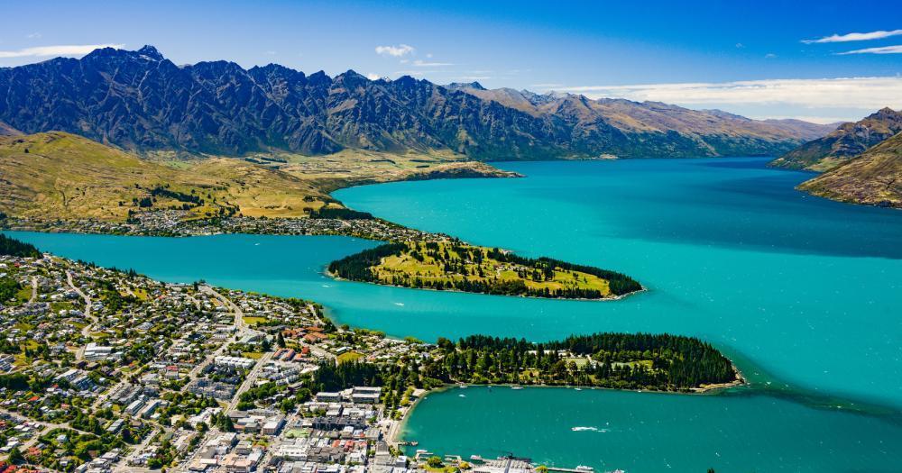 Christchurch - Blick auf das Meer